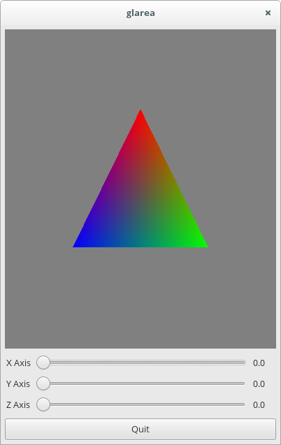 halting problem : Using OpenGL with GTK+